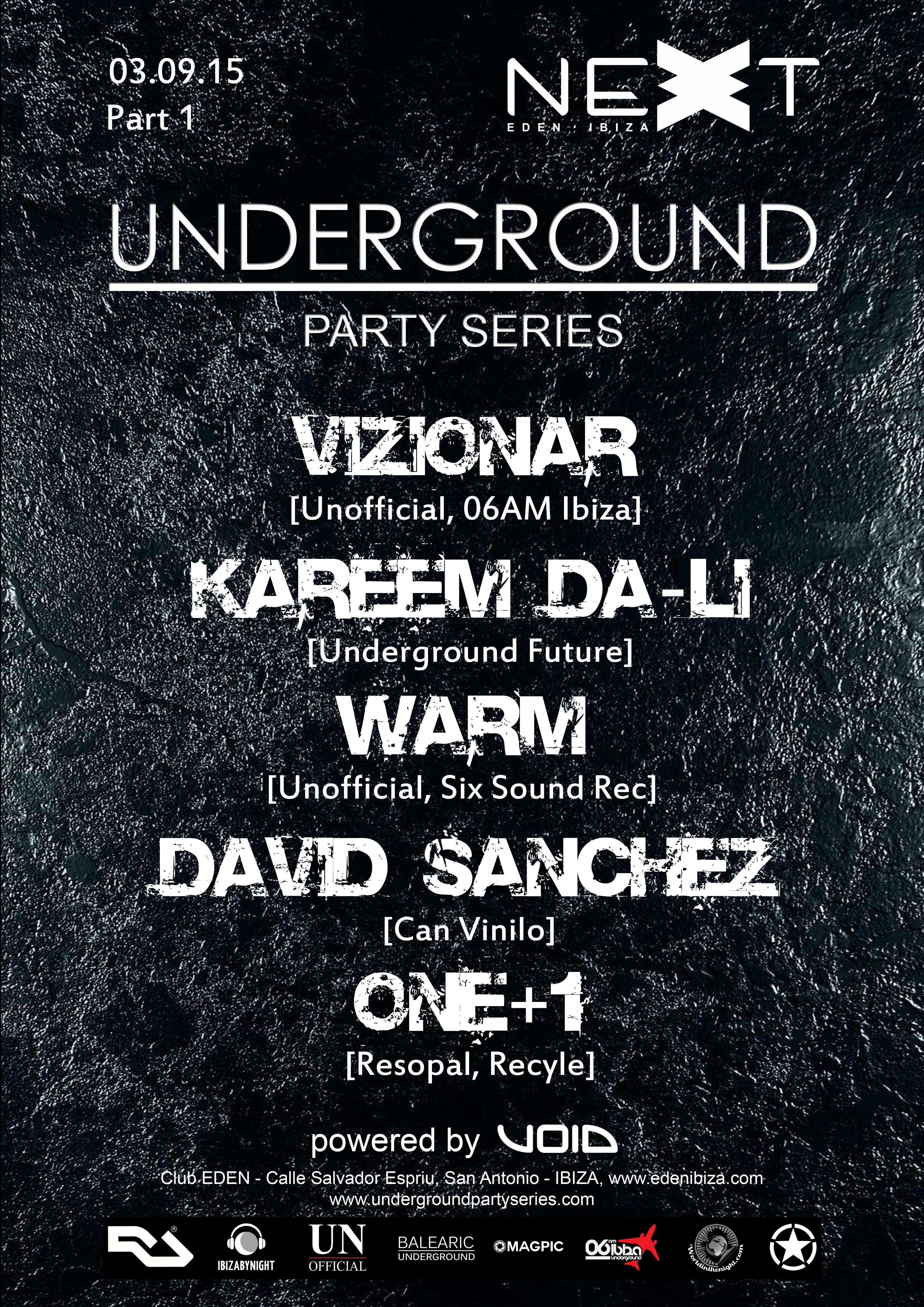 Underground Party Series